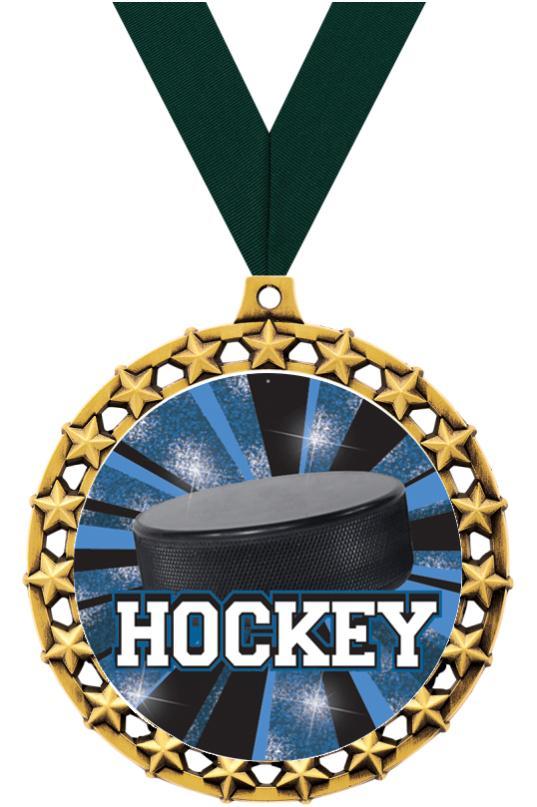 """2 1/2"""" Galaxy Star Medals"""
