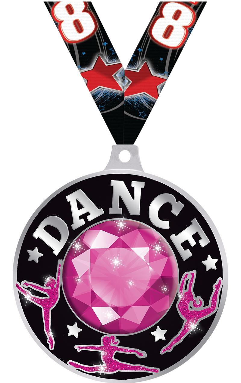 "2 1/4"" Dance Dazzle Medals"