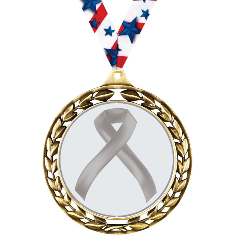 "2.5""LAUREL WREATH BLANK MEDAL"
