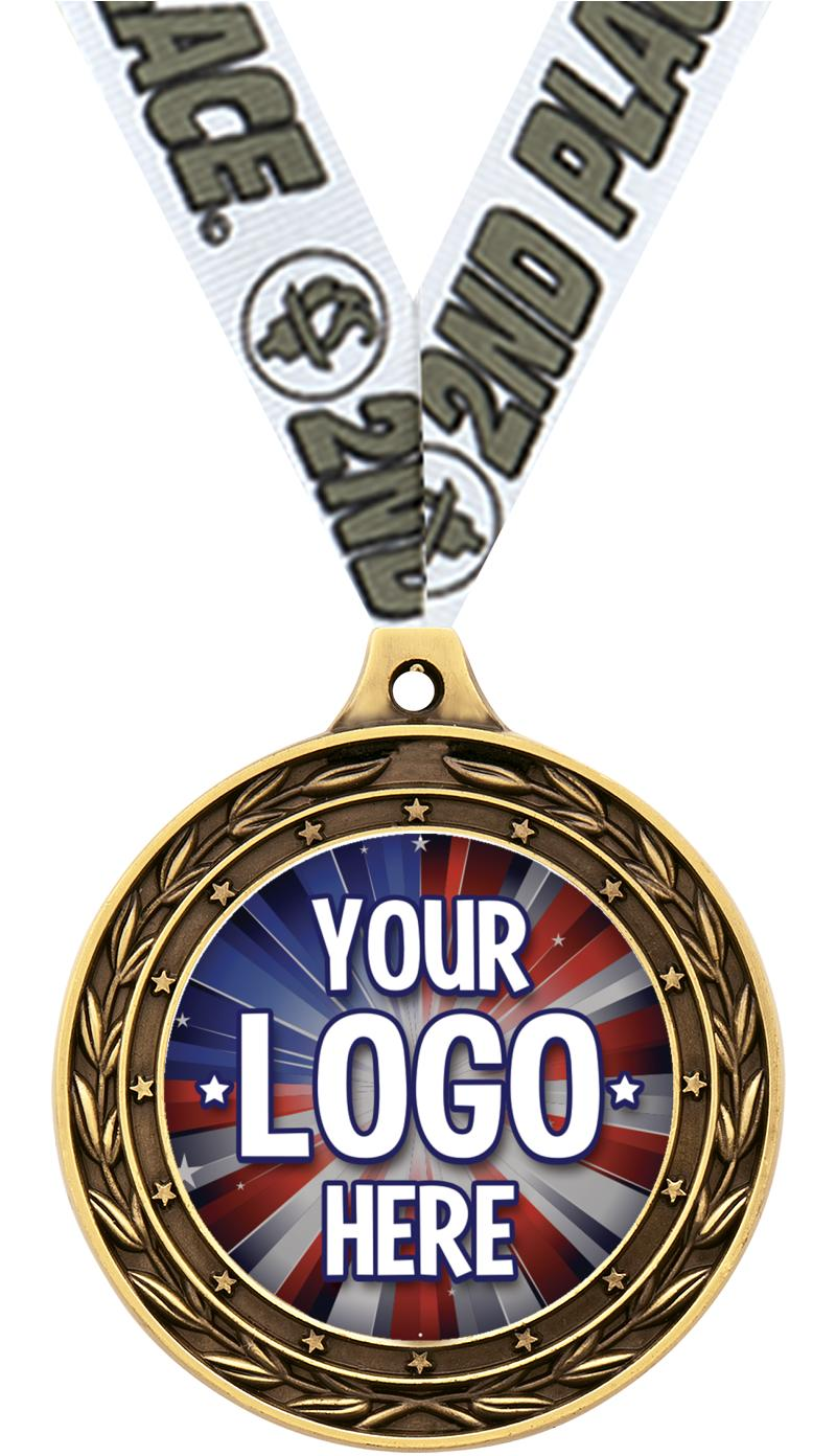 "2"" Victor Dual Finish Medals"