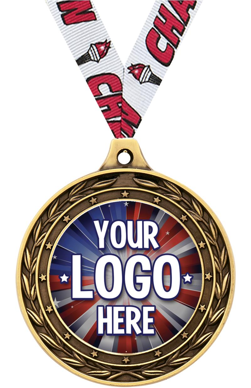 """2"""" Victor Dual Finish Medals"""