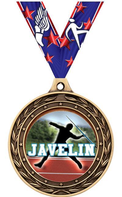 """2"""" Javelin Victor Dual Medal"""