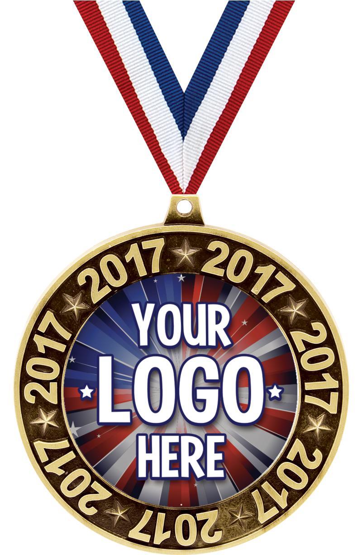 """3"""" 2017 Perimeter Medal"""