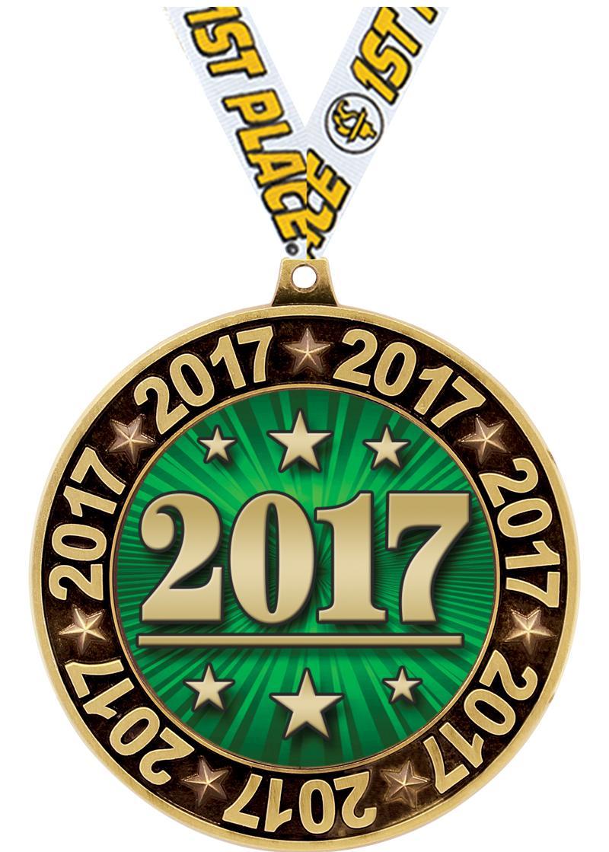 """3"""" 2017 Perimeter Medals"""