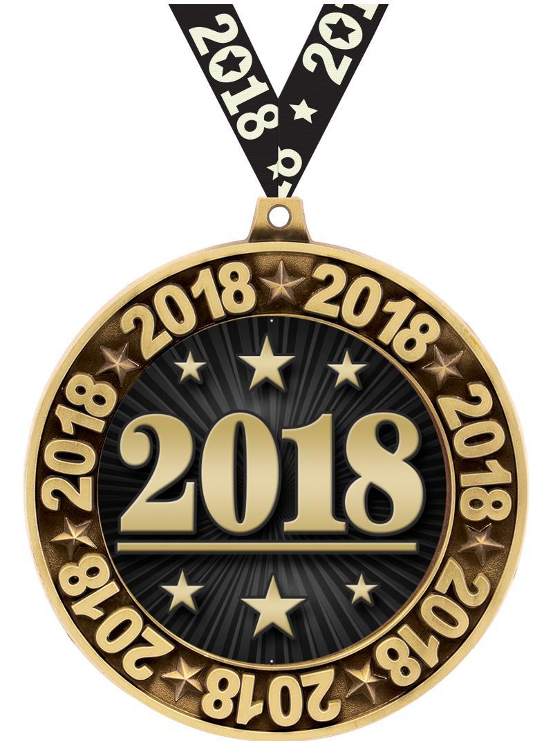 """2.75"""" 2018 PERIMETER MDL GOLD"""