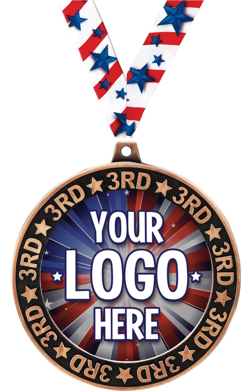 3rd Place Perimeter Insert Medal