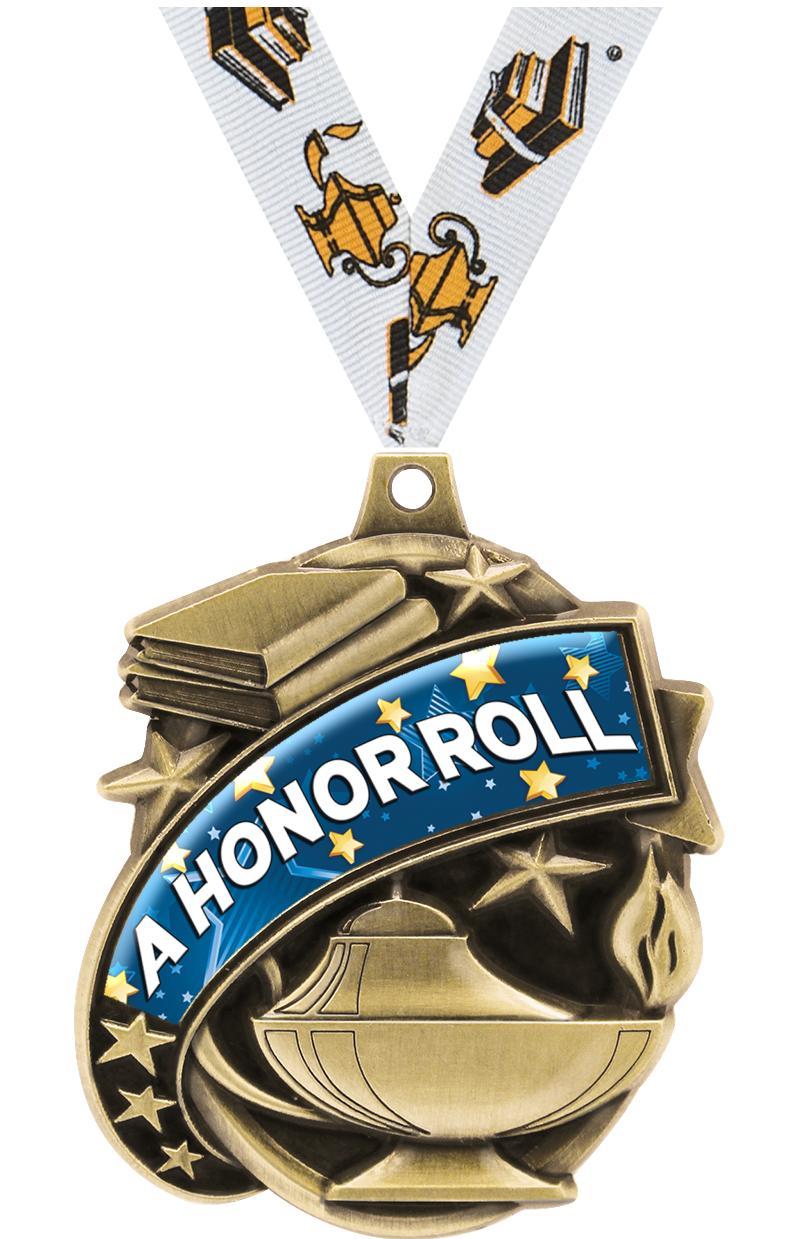 """2"""" Kudos Academic Medal"""