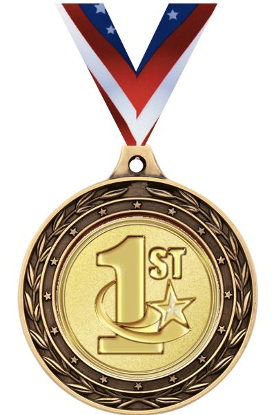 "2"" Duo Medals"