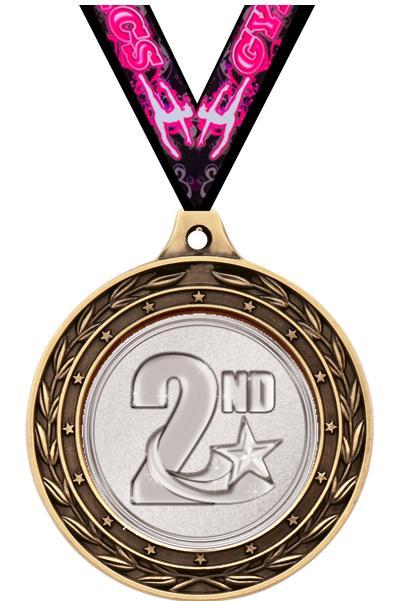"2"" Religion Duo Medals"