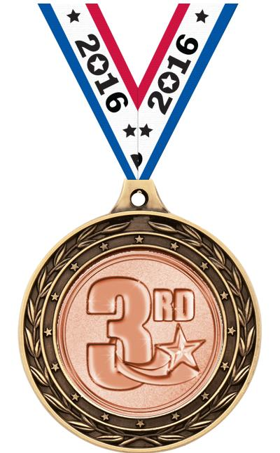 """2"""" Wrestling Duo Medals"""