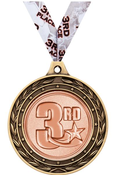 """2"""" Volleyball Duo Medals"""