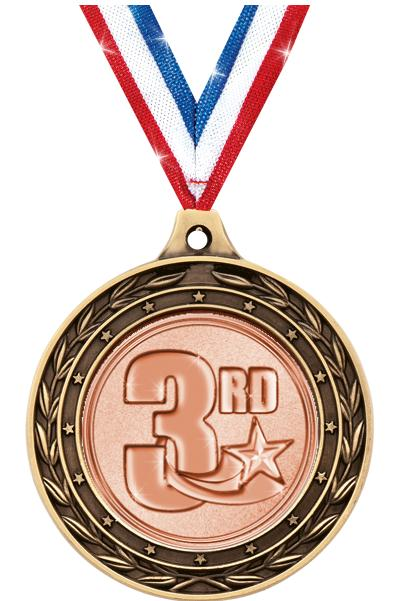 """2"""" Track/Field Duo Medals"""