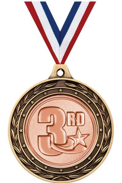 "2"" Baseball Duo Medals"