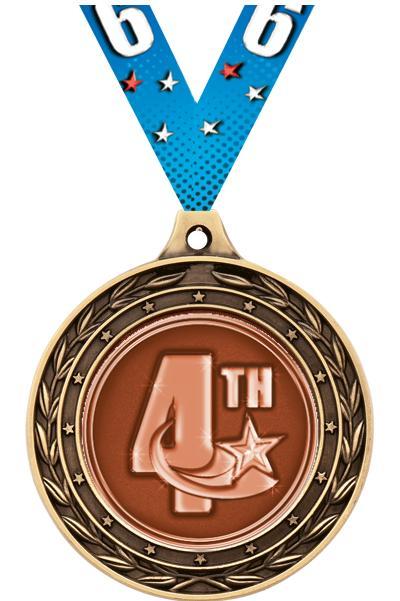 """2"""" Scholastic Duo Medals"""