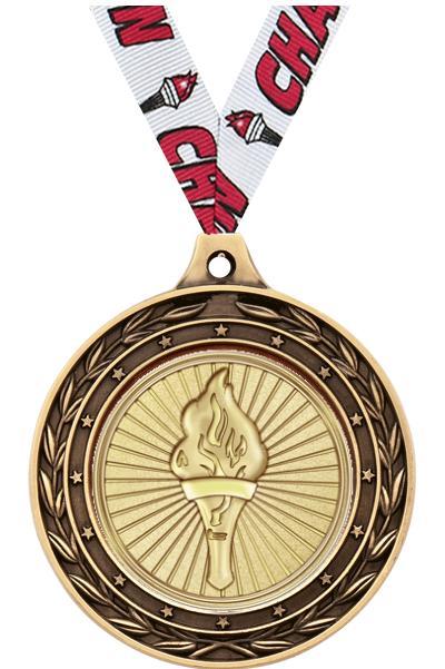 "2"" Tennis Duo Medals"