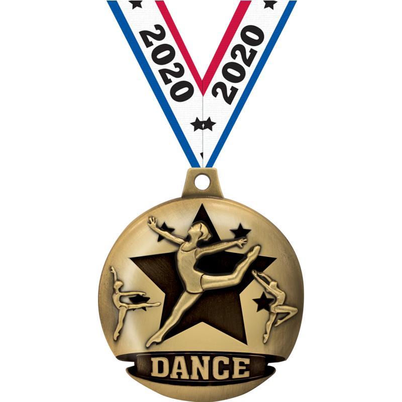 "1 3/4"" DANCE GALACTIC GLD"