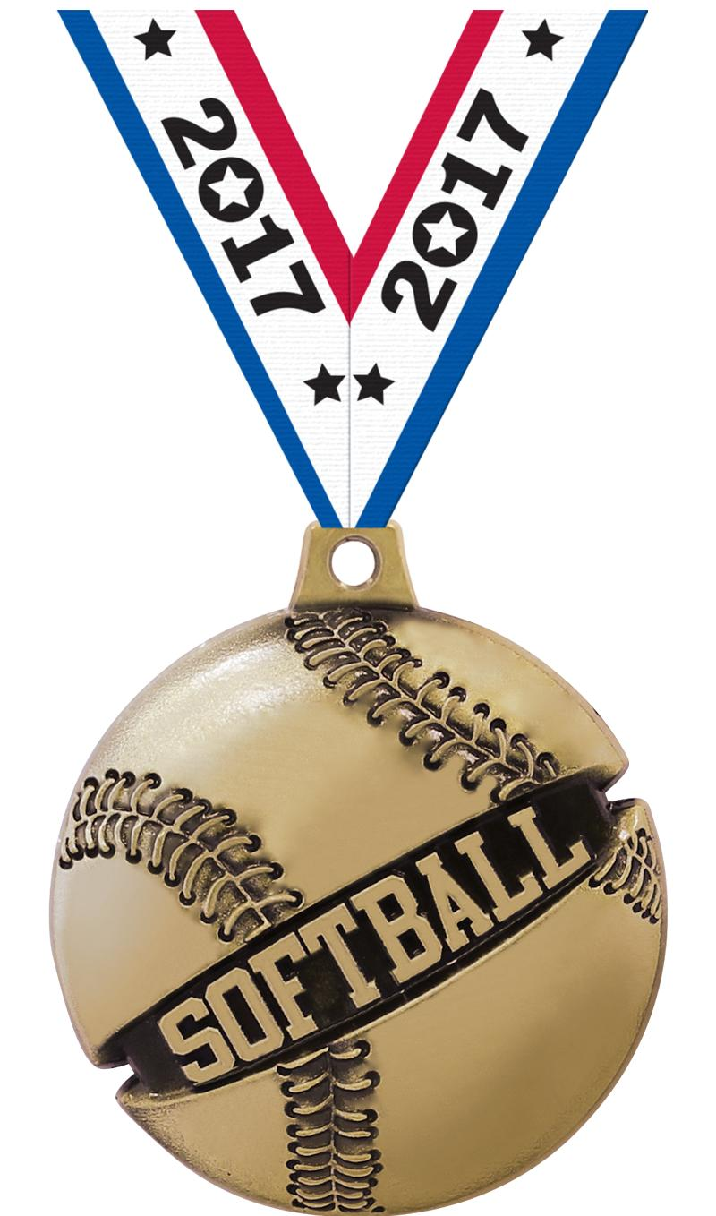 "1 3/4"" SOFTBALL GALACTIC GLD"