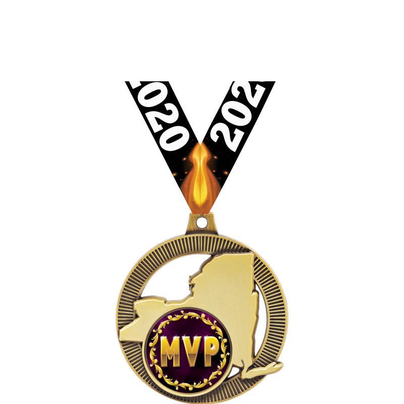 """2"""" NEW YORK INSERT MDL GOLD"""