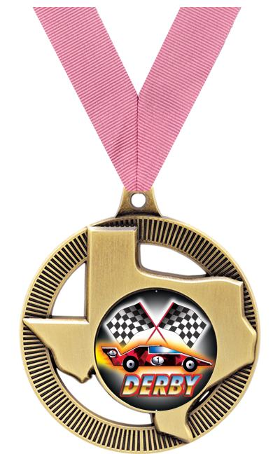 """2"""" Texas State Medal"""