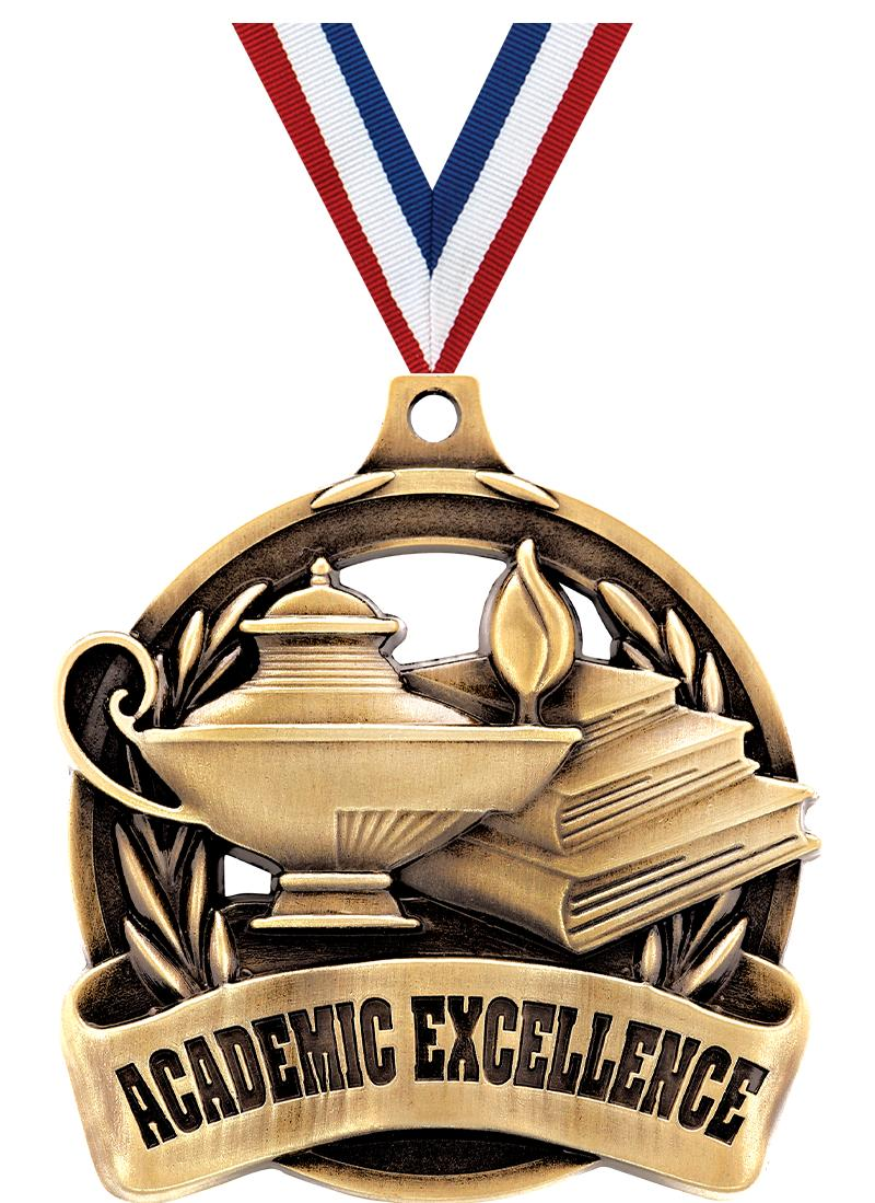 """2"""" Academic Excellence Medal"""