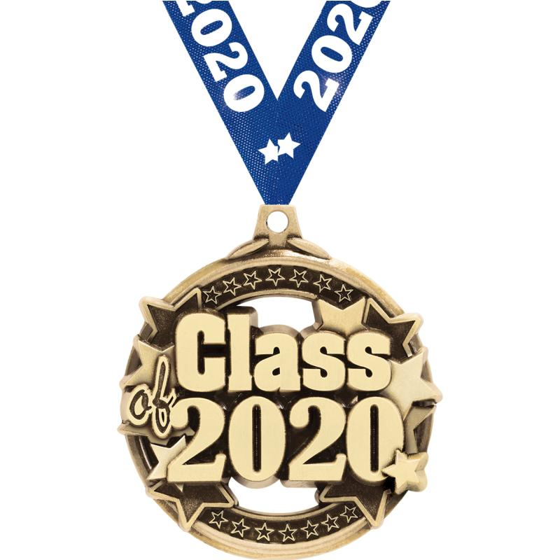 """2"""" CLASS OF 2020 GOLD MEDAL"""