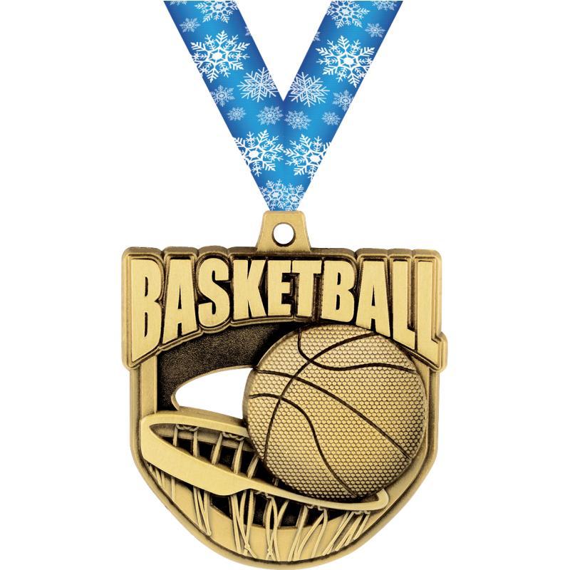 "2""ECLIPTIC BASKETBALL MDL GOLD"
