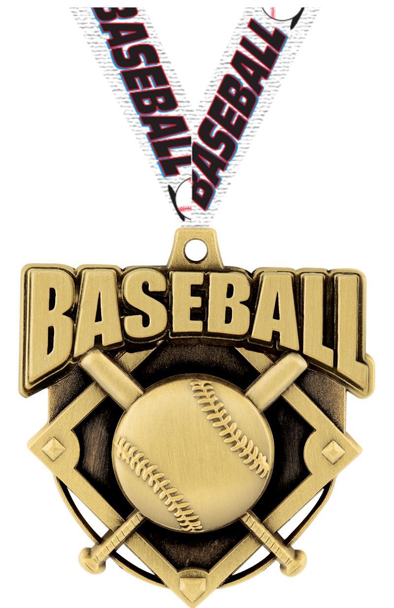 "2"" Ecliptic Baseball Medal"