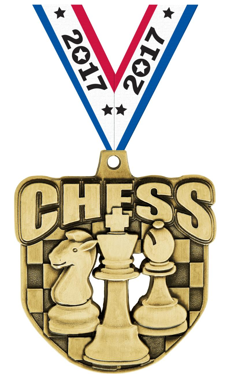 """2"""" Ecliptic Chess Medal"""