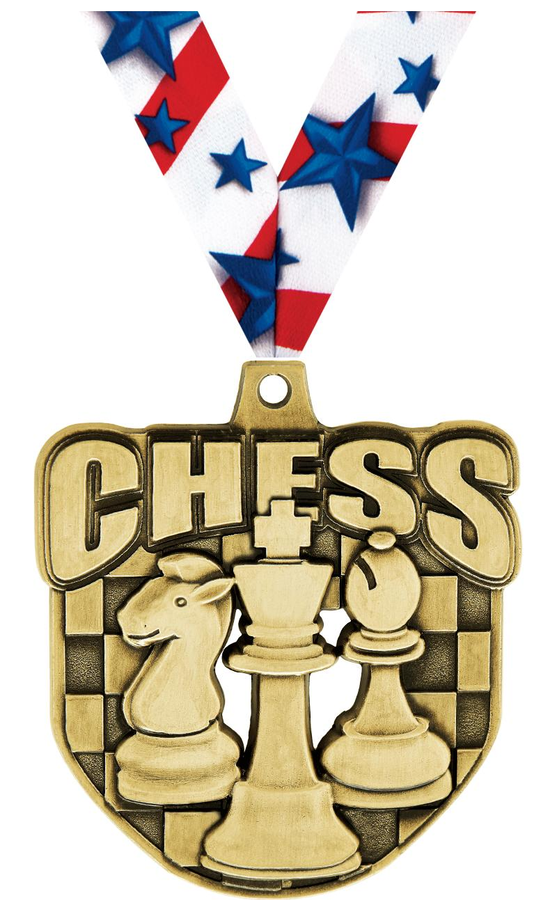"2"" Ecliptic Chess Medal"