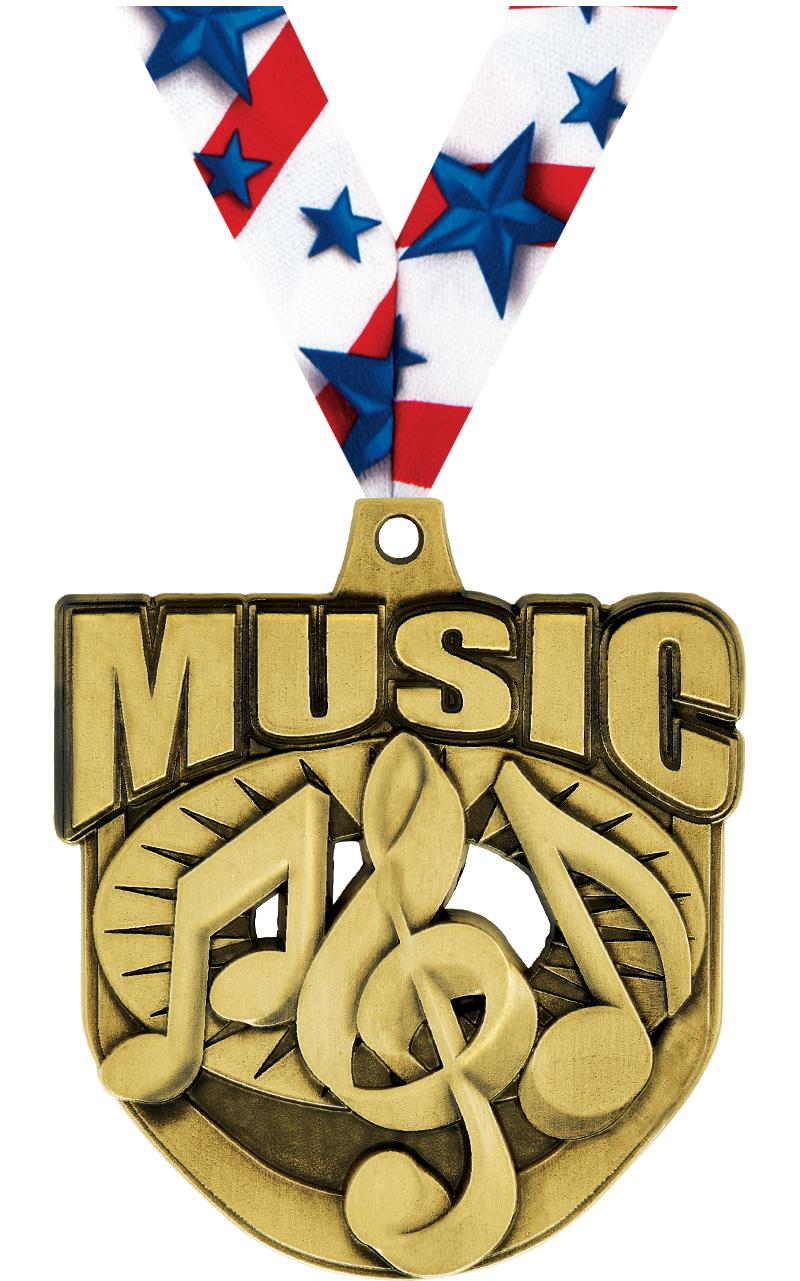 "2"" Ecliptic Music Medal"