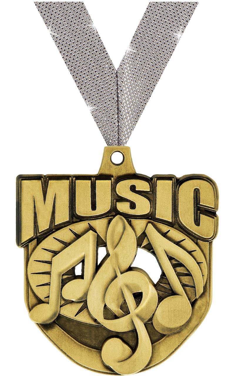 "2"" ECLIPTIC MUSIC GLD MDL"
