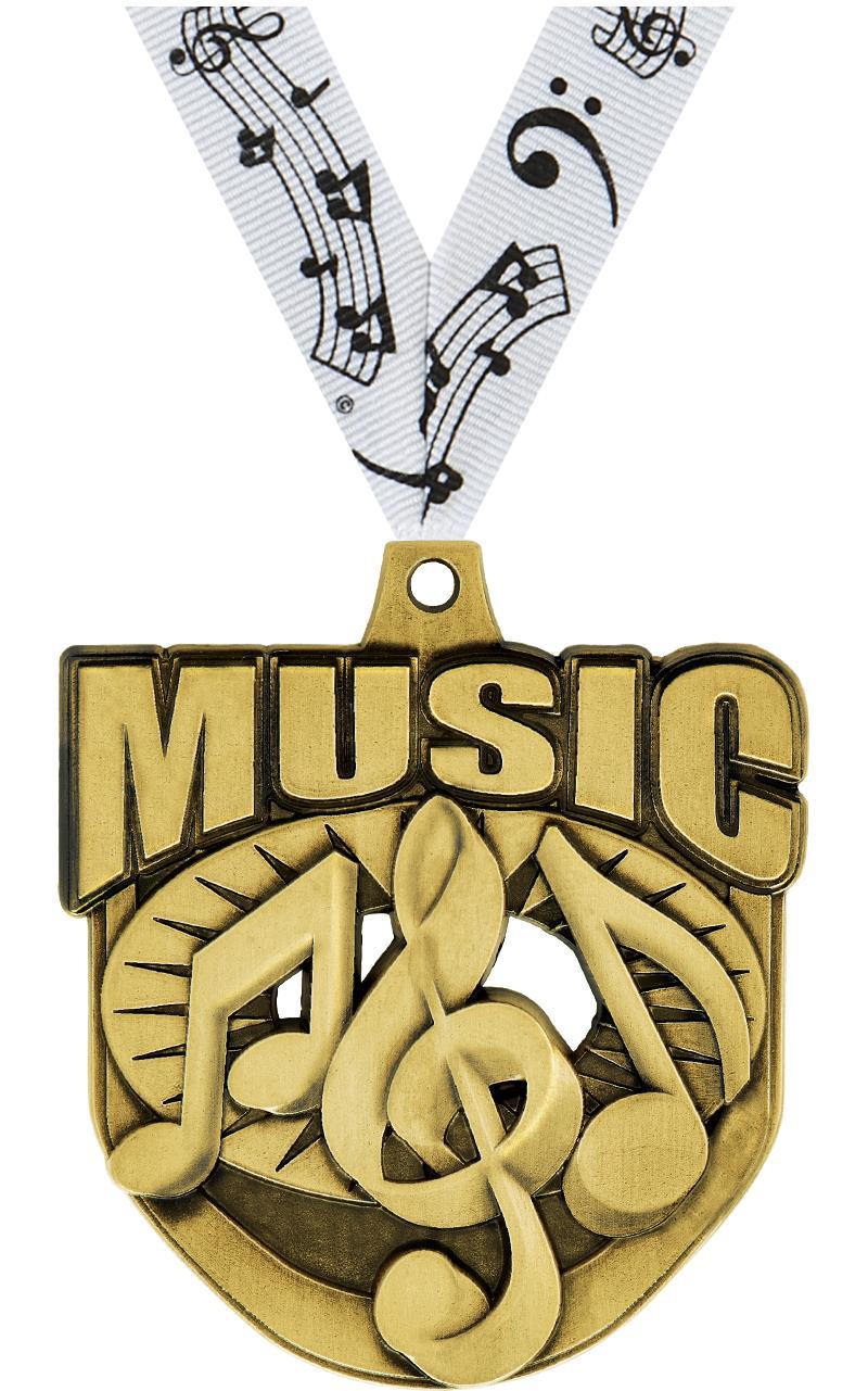 "2"" Ecliptic Music Medal"