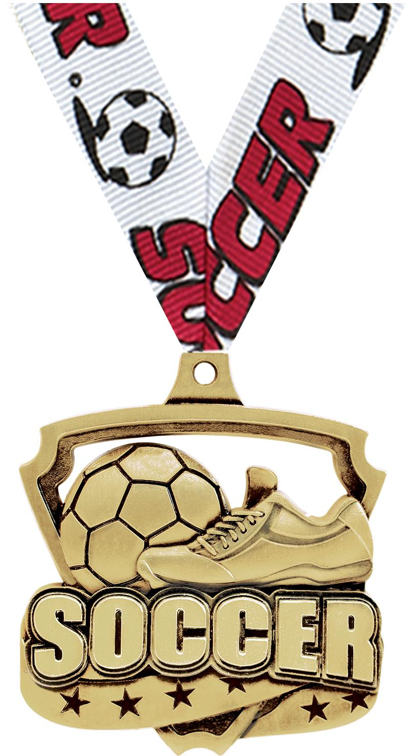 """2"""" Ecliptic Soccer Dribble Medals"""