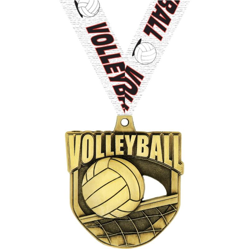 """2"""" ECLIPTIC VOLLEYBALL GLD MDL"""