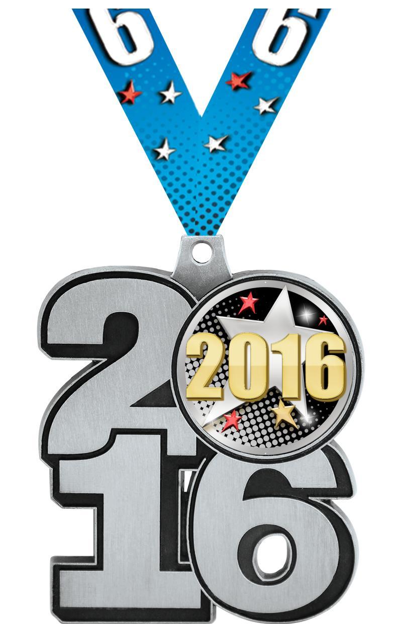 "2.25"" 2016 INSERT MEDAL SILVER"