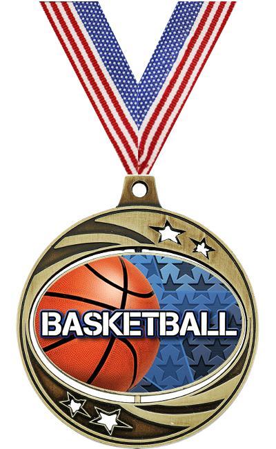 "2"" Basketball Spinzer Medal"