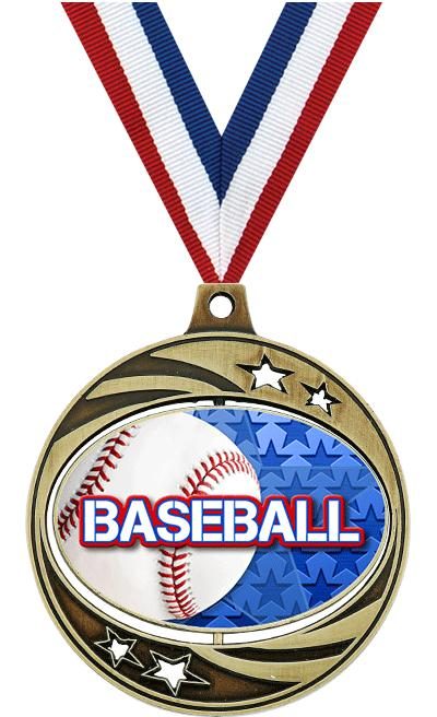"2"" SPINZER BASEBALL GOLD"