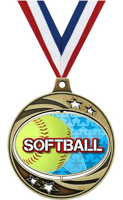 "2""SPINZER SOFTBALL GOLD"