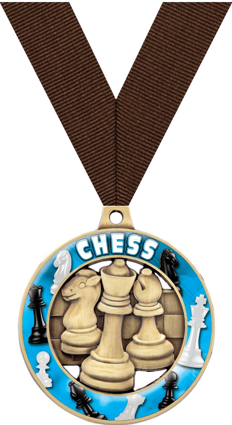 "2"" Chess Sport Rimz 3.0 Medal"