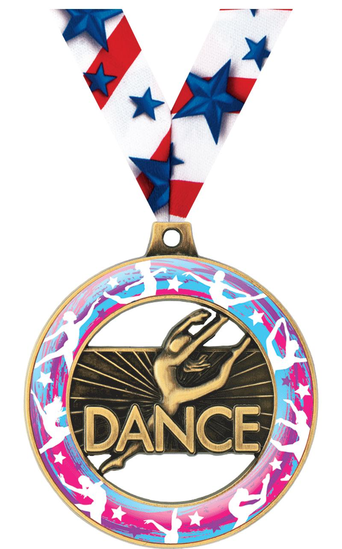 "2"" Dance Sport Rimz 3.0 Medal"