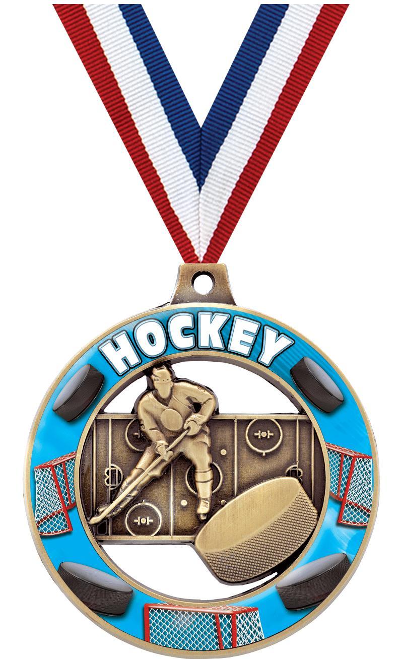 """2"""" Hockey Sport Rimz 3.0 Medals"""