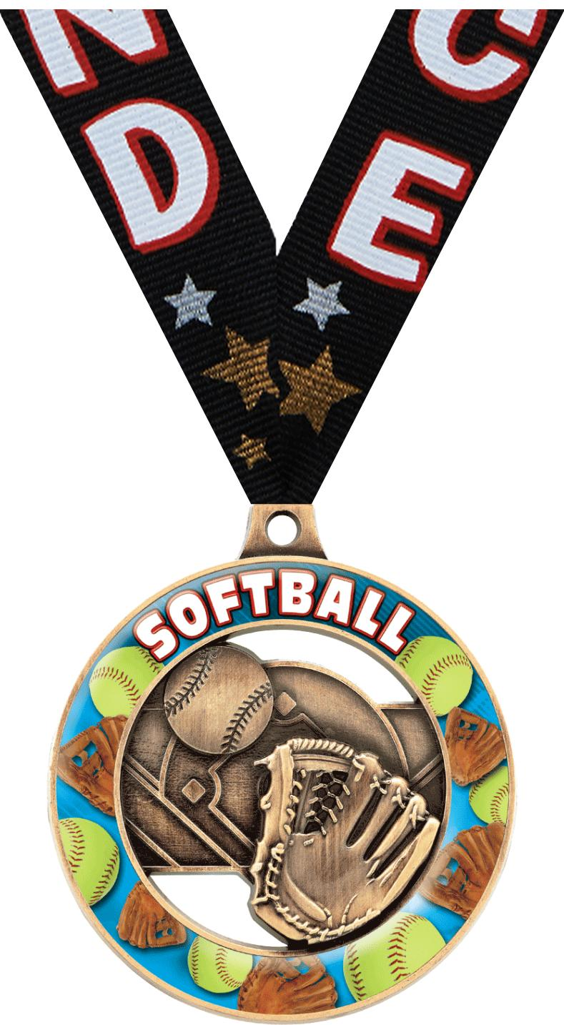 "2"" SOFTBALL SPORT RIMZ 3.0 GLD"