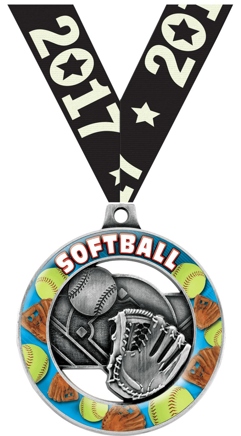 "2"" SOFTBALL SPORT RIMZ 3.0 SLV"