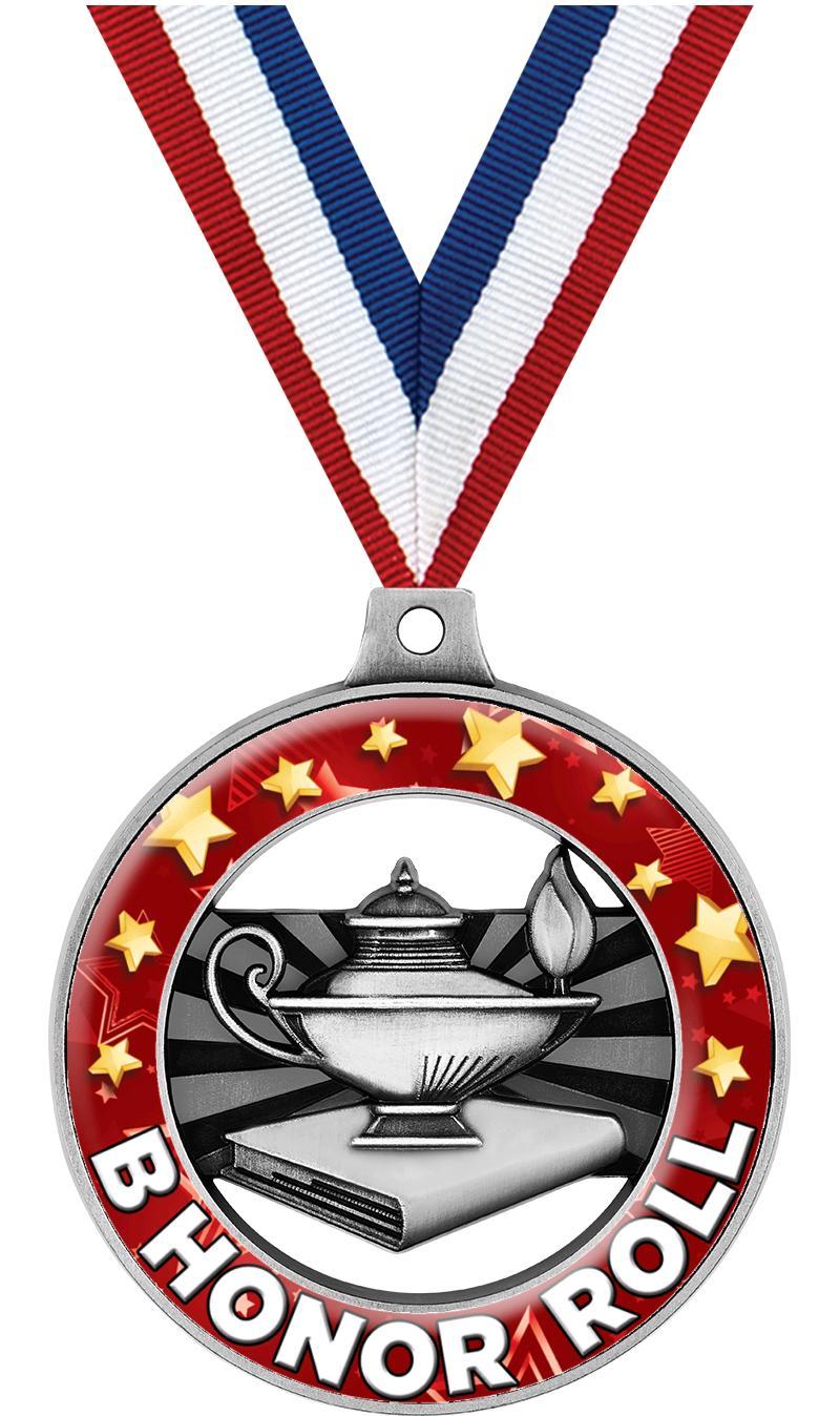 """2"""" Scholastic Dome Rimz Medal"""