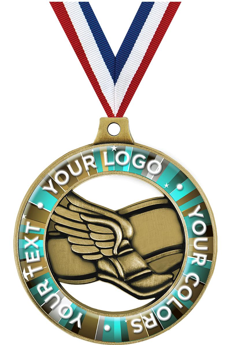 Custom Winged Foot Rimz Medals