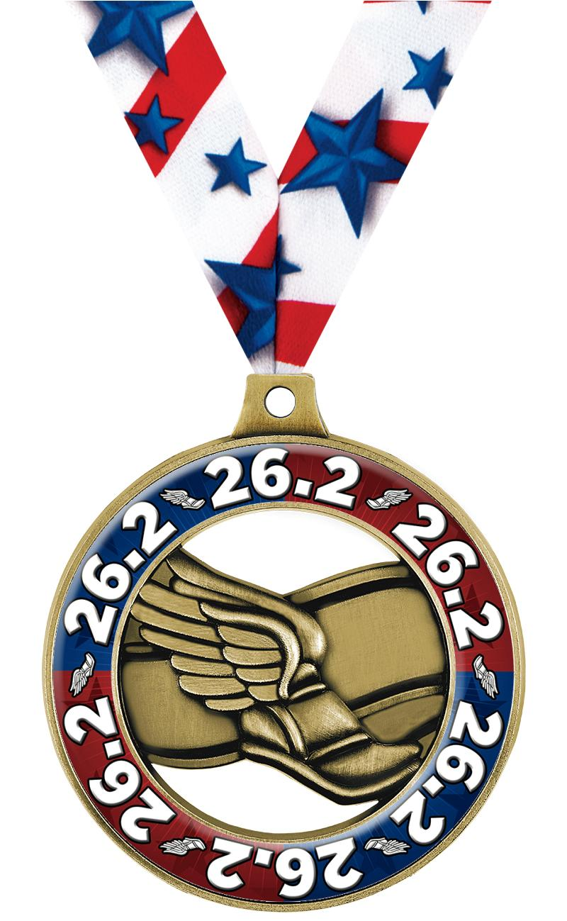"2"" Winged Foot Dome Rimz Medal"