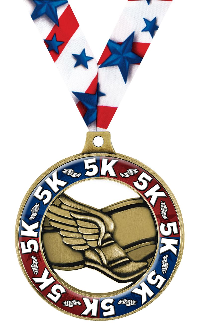 """2"""" Winged Foot Dome Rimz Medal"""