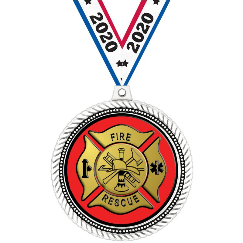 "2.5""HONORABLE INSERT MEDAL WH"