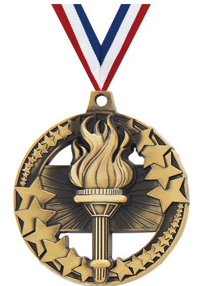 "2"" Torch Sport Rimz 2.0 Medal"