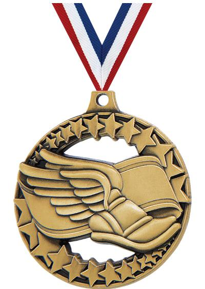 "2"" Winged Foot Sport Rimz 2.0 Medal"